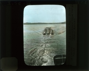 1929 -Mâts remorqués rivière Nass -  MCH nc 73044 LS