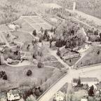 L'axe principal du Jardin de 1935 à 1959